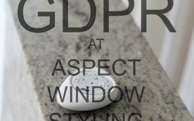 GDPR at Aspect Window Styling