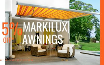 15% off Markilux Awnings – Measuring and Fitting Service Available