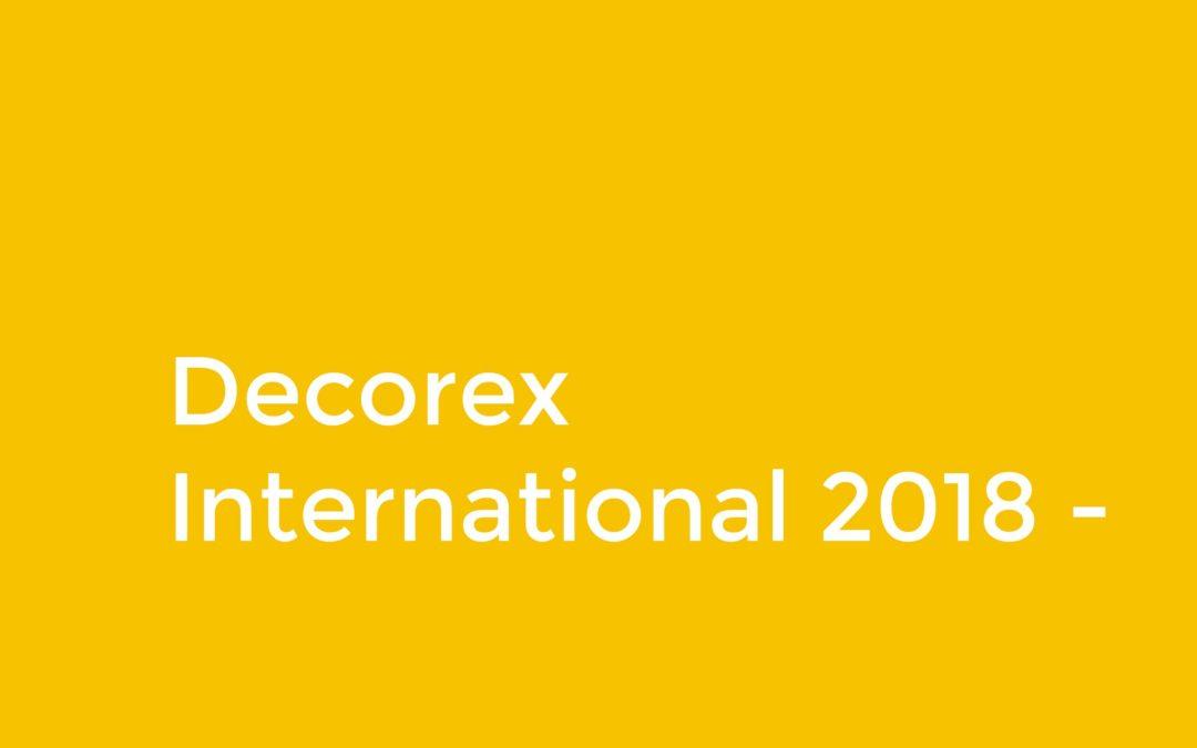 Decorex International 2018 – UK's Leading Interior Design Event Explained