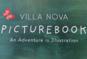 Villa Nova's picturebook fabric collection sample book cover.