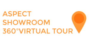 Aspect Window Styling 360º showroom virtual tour logo.