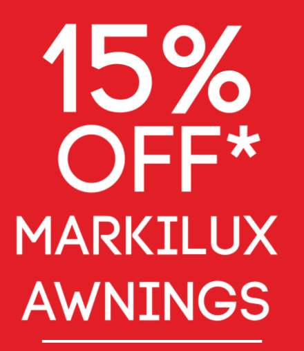15% off Awnings – Markilux Awning Sale Bath