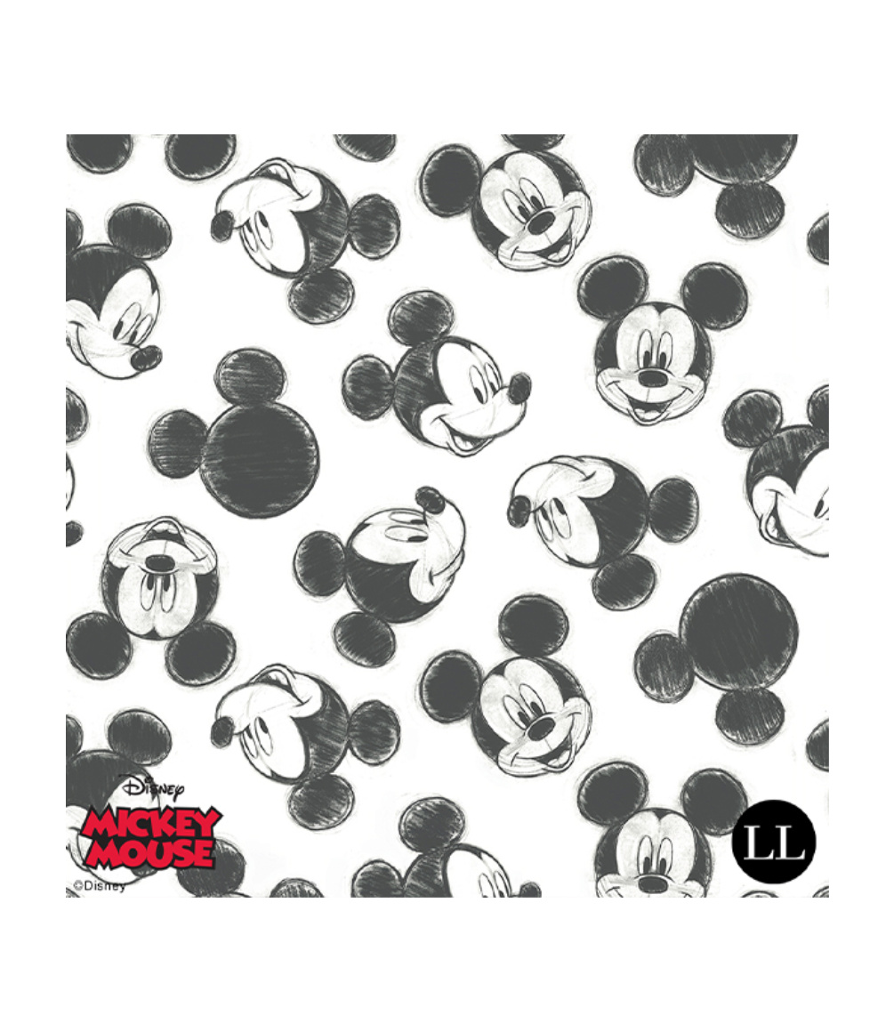 Micky Mouse fabric print design.