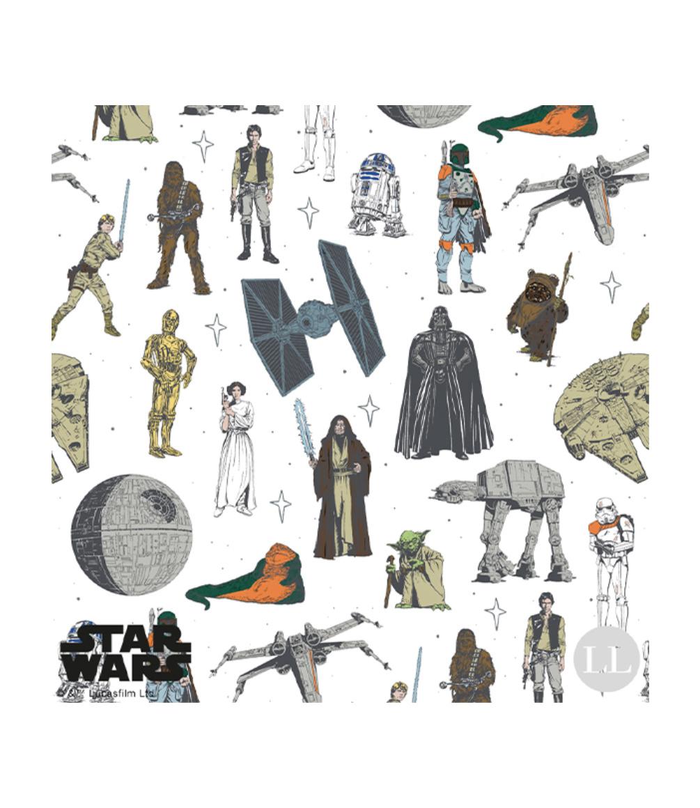 Star Wars Character fabric prints