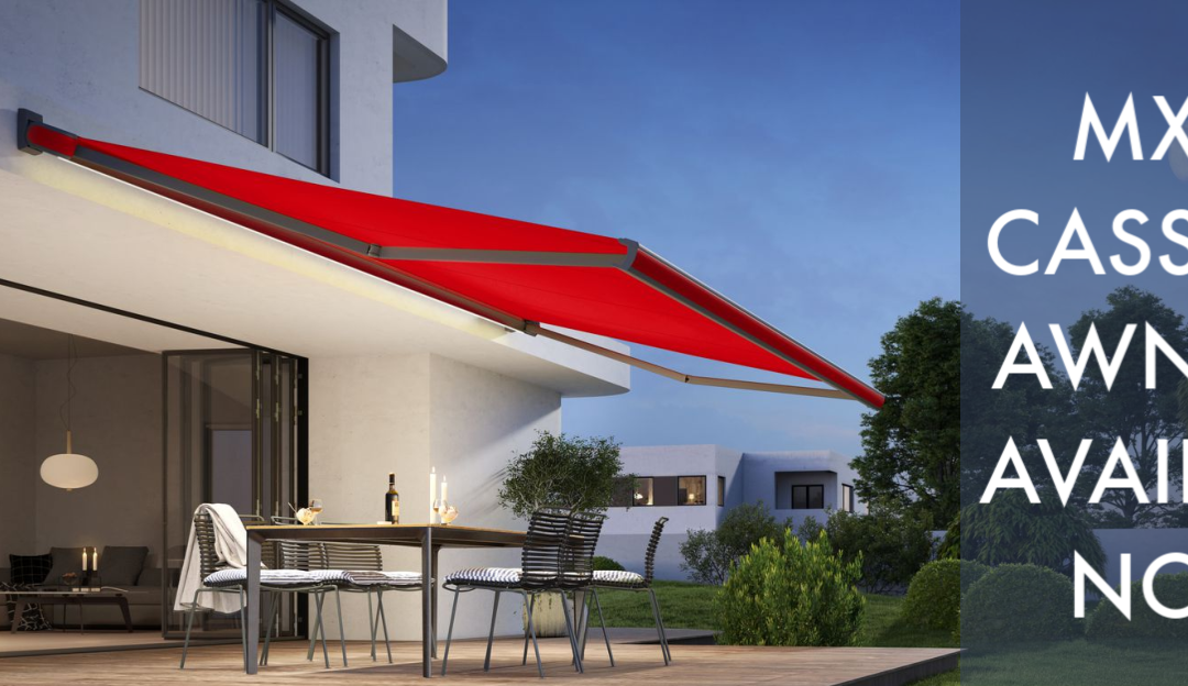 Markilux MX-3 Cassette Awning Now Available