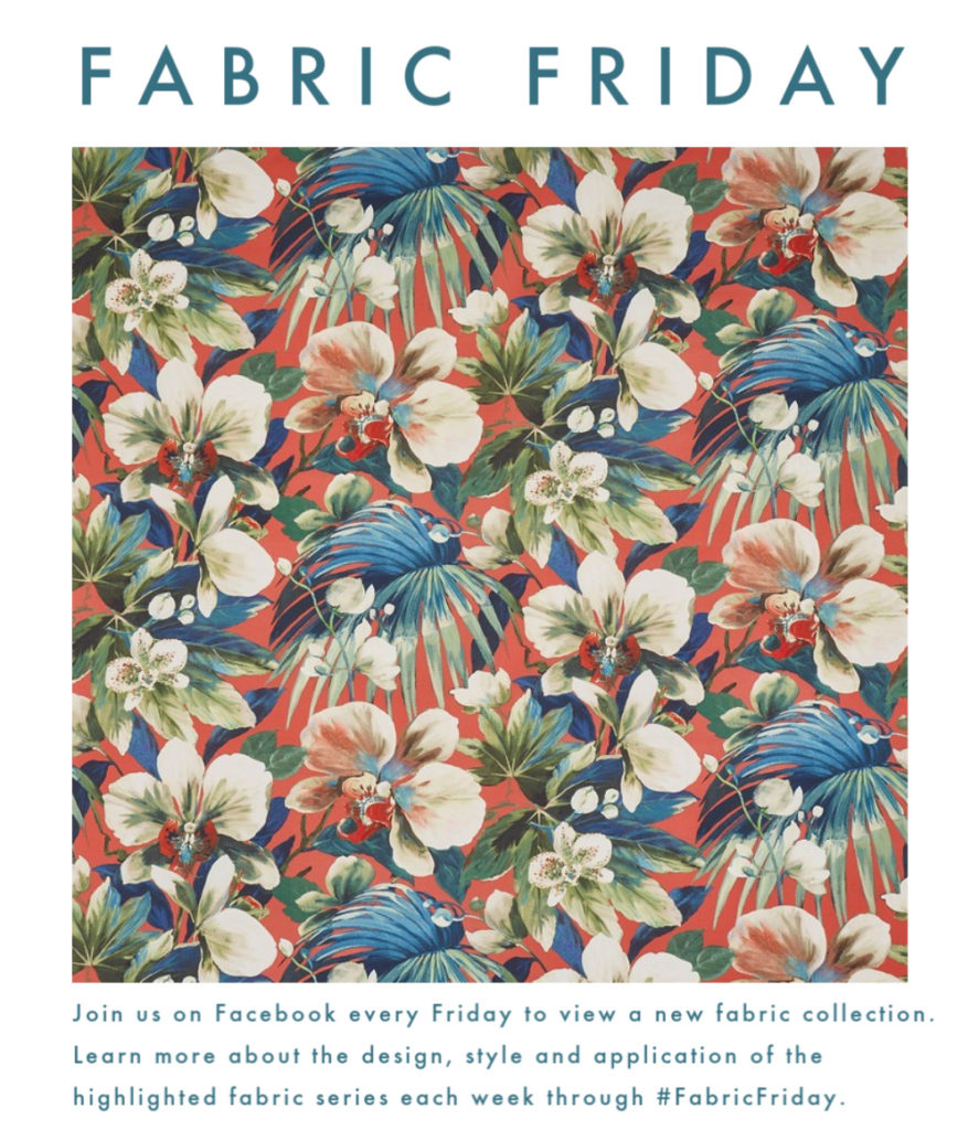 Fabric Friday promotion information