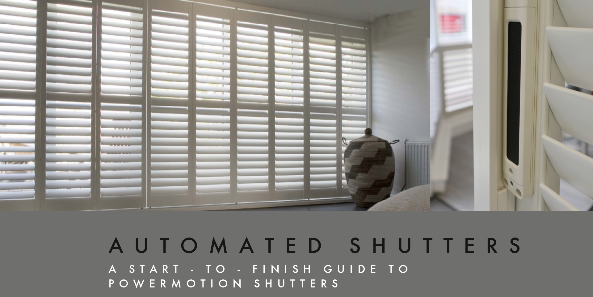 Automated Shutters solar power battery guide