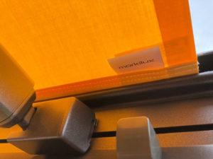 Markilux 970 awning fabric label