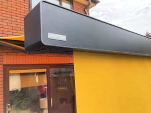 Markilux 970 awning installation home.