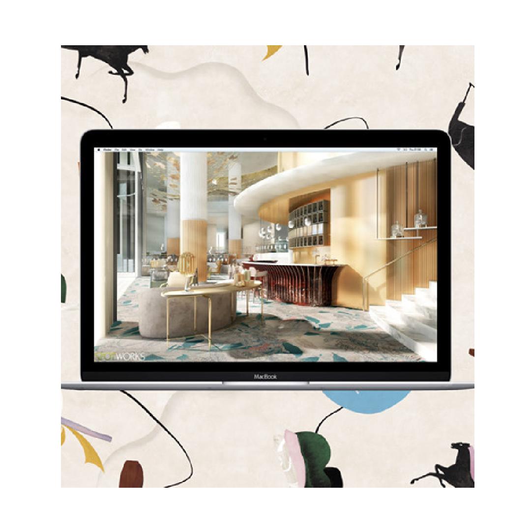 Decorex Virtual 2020 digital platform display