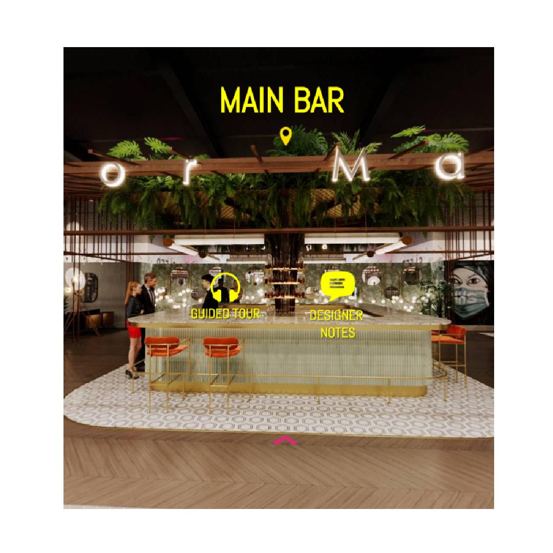 Virtual lounge bar Decorex tour
