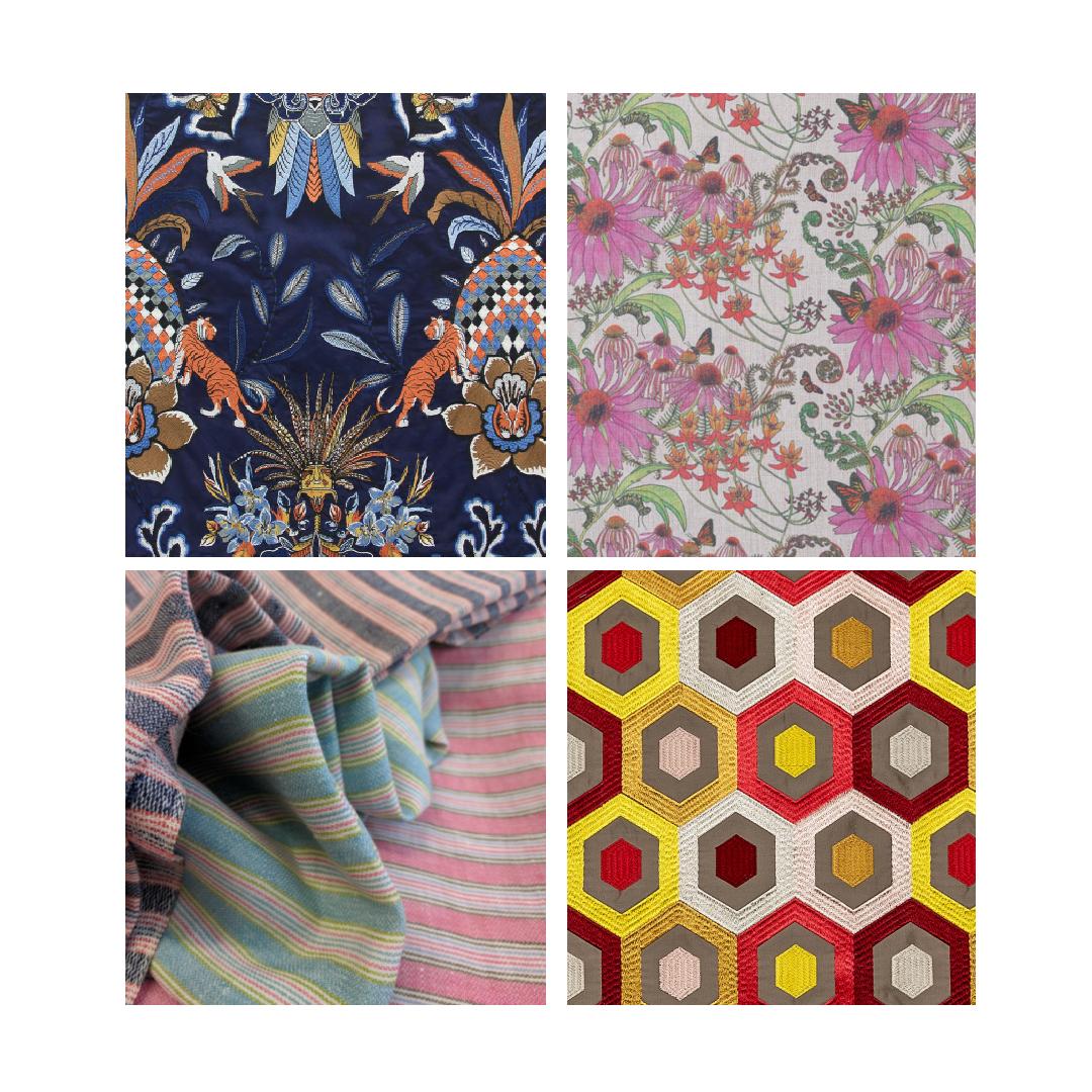 Decorex fabric samples