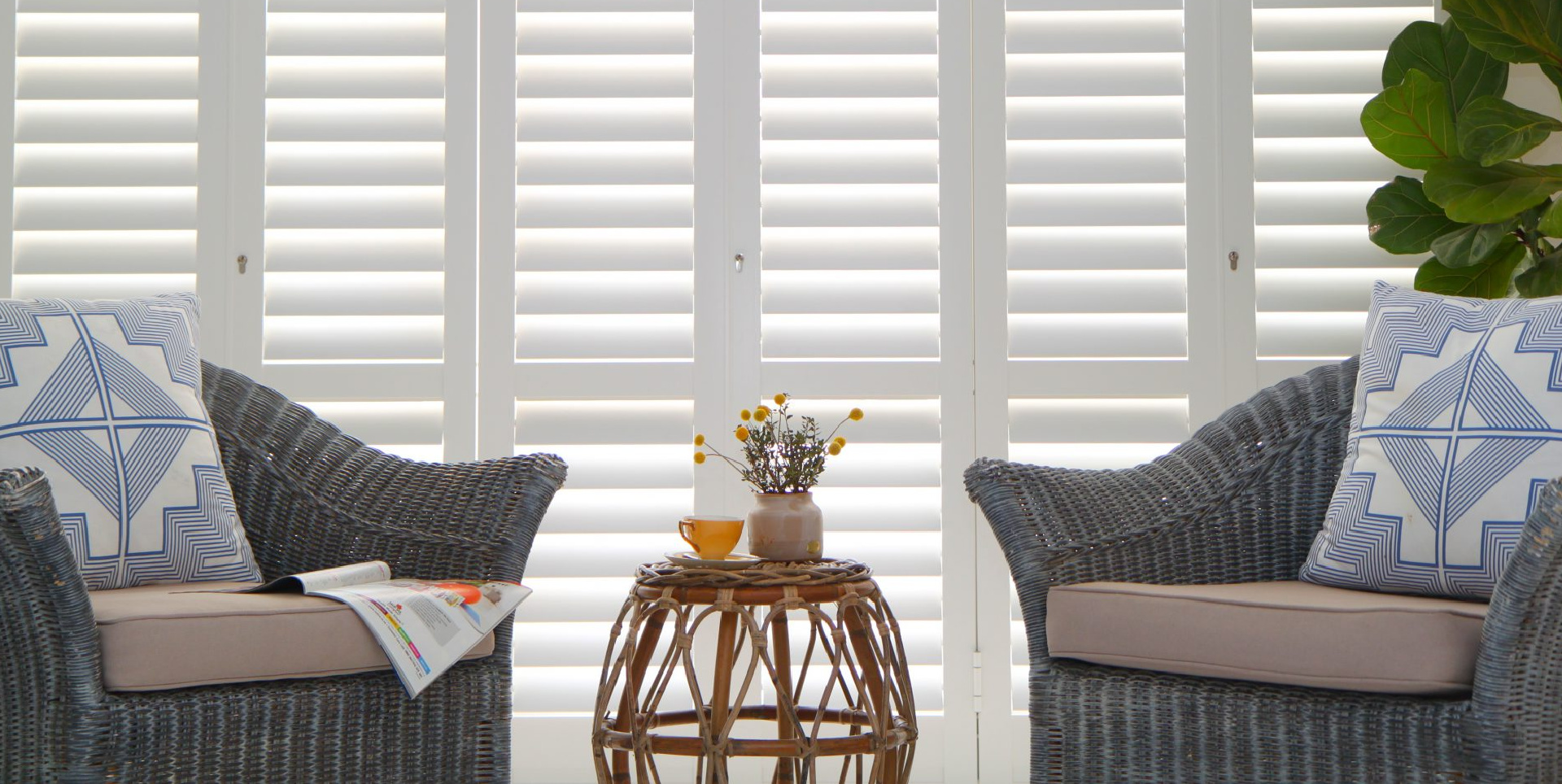 Portchester Security Shutters living room window