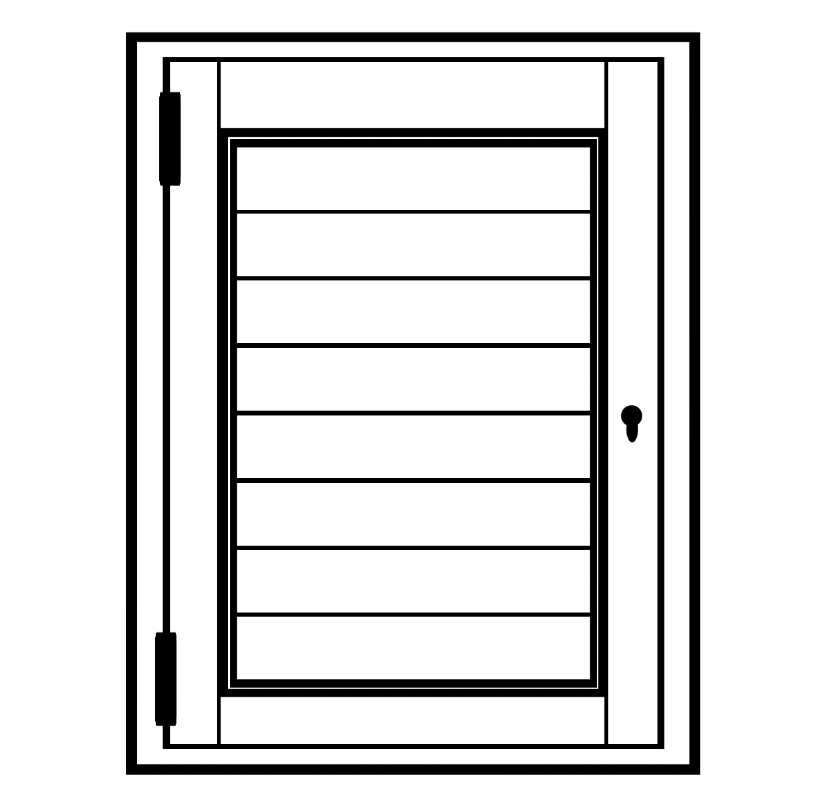 Portchester shutter diagram