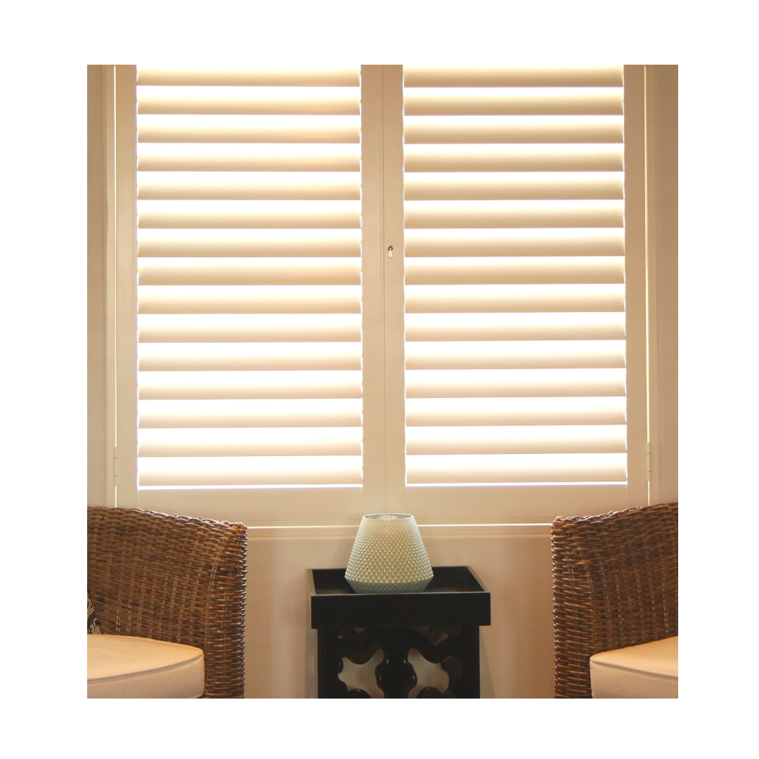 Portchester Shutters in neutral living room window