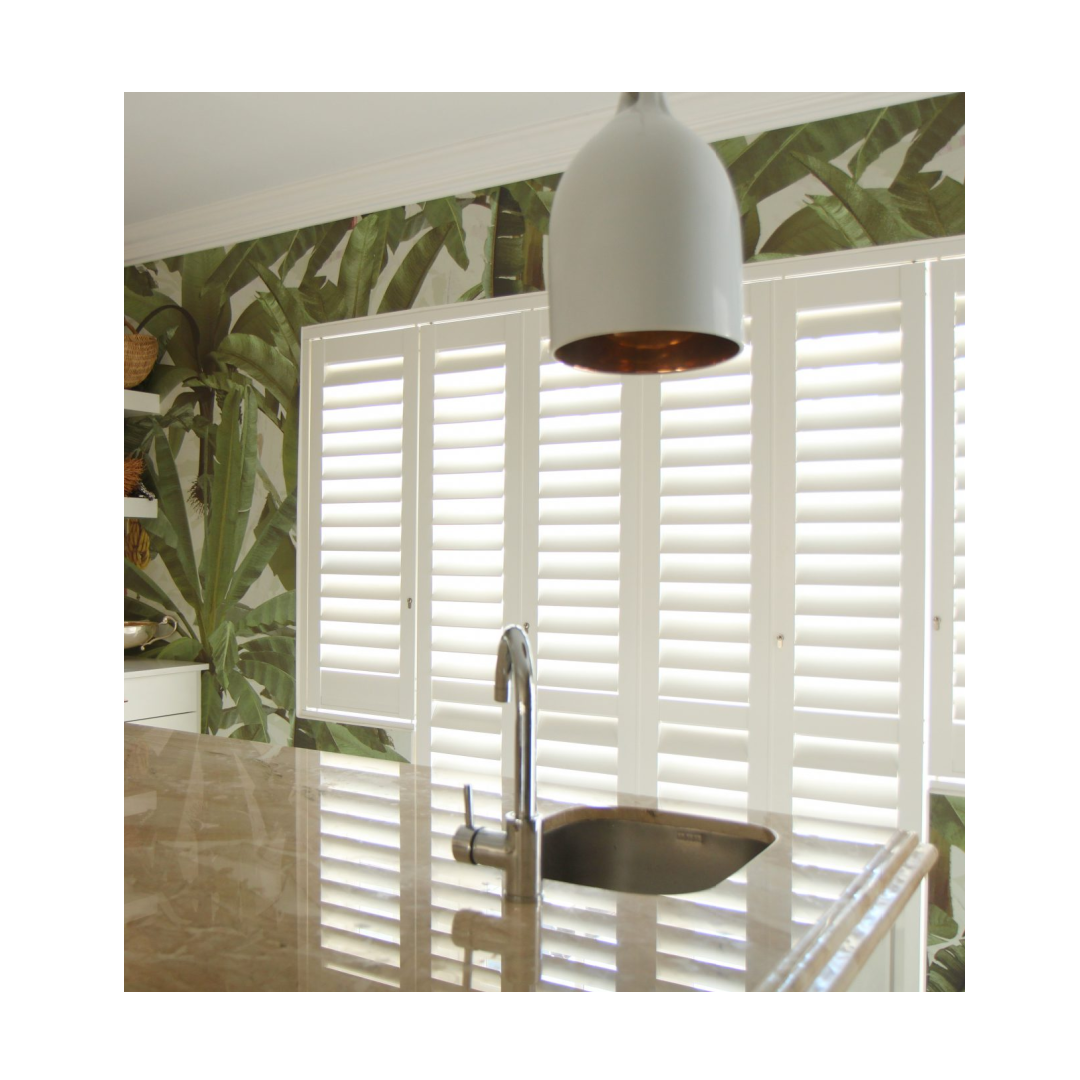 Portchester Security Shutters in contemporary kitchen window