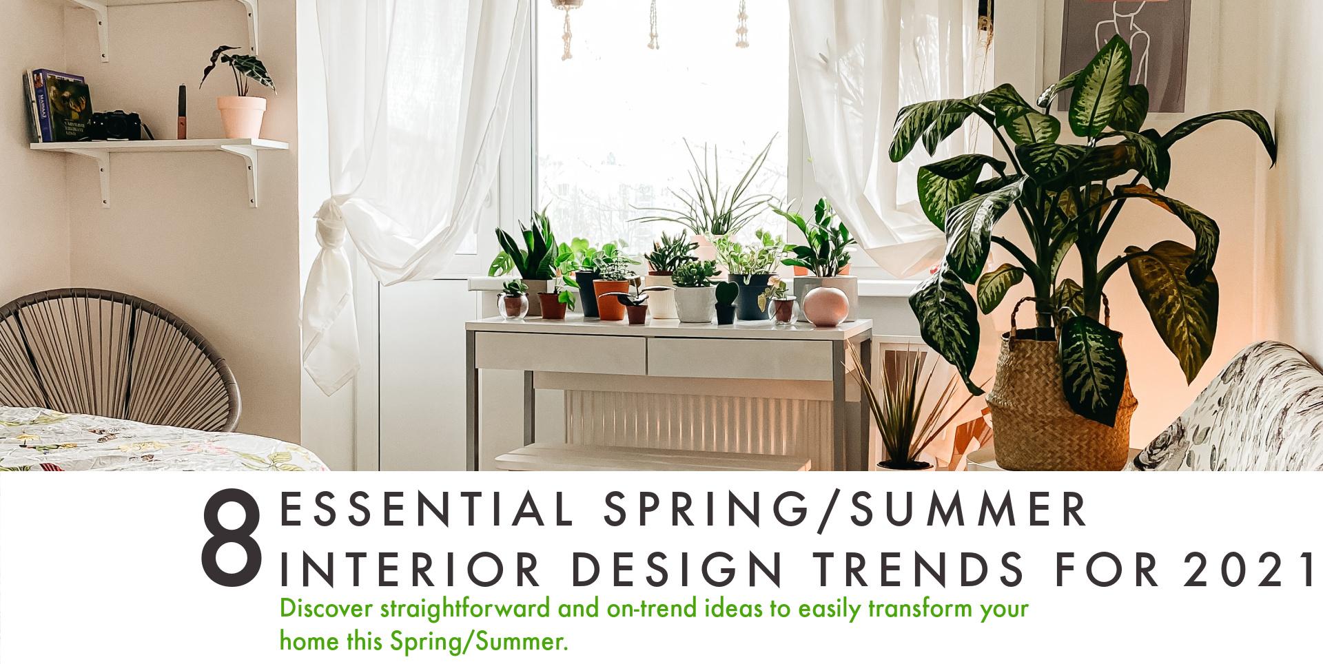 Autumn interior design trends and blind showcase