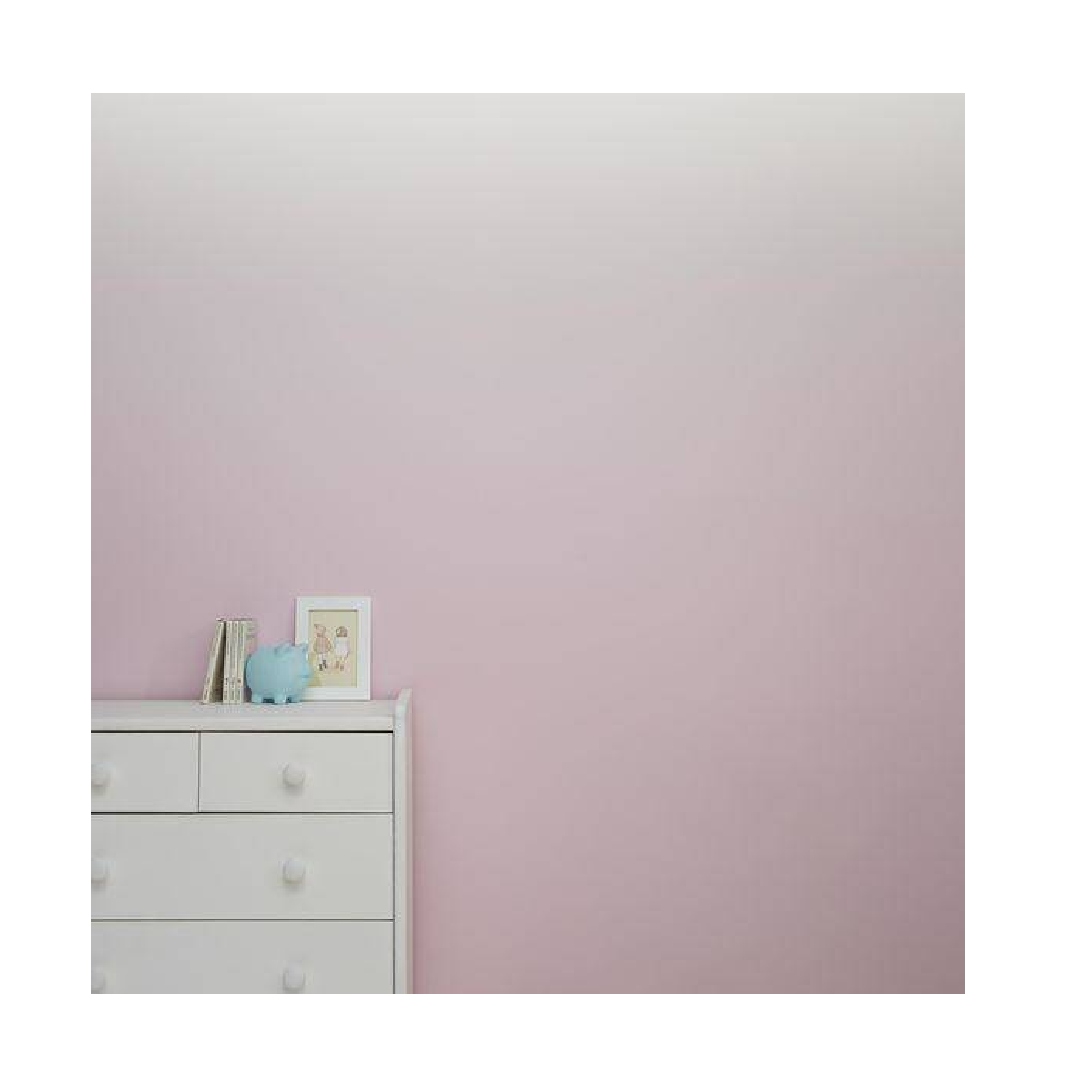 Ombre colour scheme wall painting