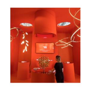 Decorex 2021 orange design